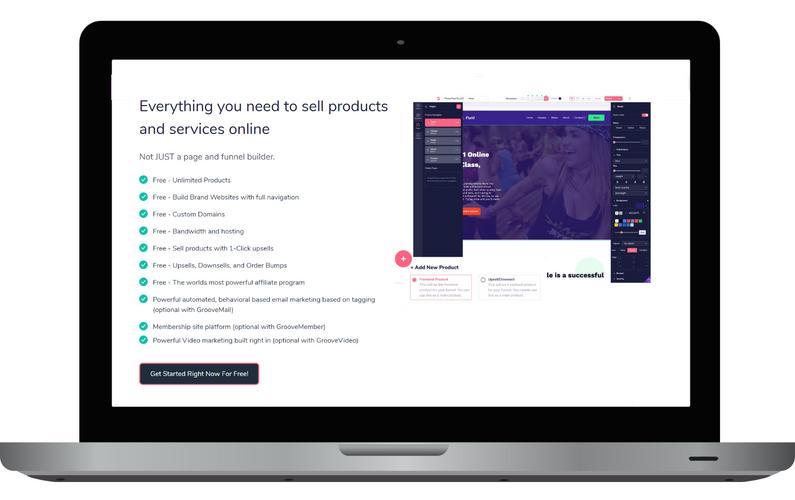 GrooveFunnels - digital marketing funnels